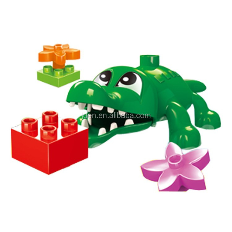 WANGE Zoo Animals Plastic Toy Of The Children Free Samples building blocks