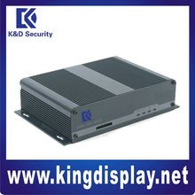On sale 2 channel D1 Digital Video Server support 3g network for security system