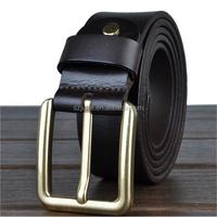Custom business leisure steel leather for making man belt buckle