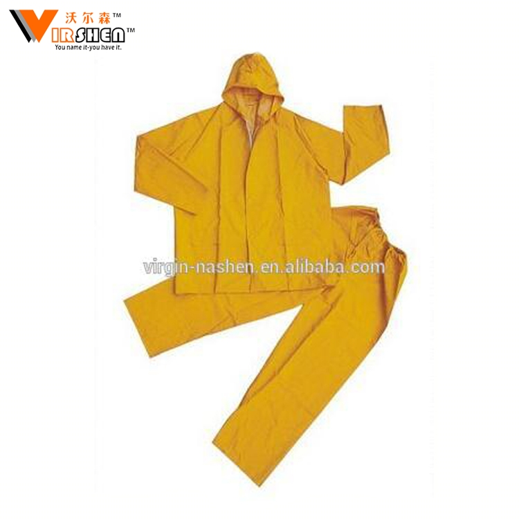 New selling adjustable cuff opening women pvc raincoat foldable suit plastic rain suits