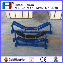 Double Labyrinth Seals Three Roll Trough Inline Roller For Steel Fabrication