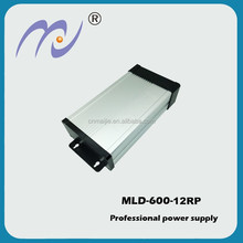 MJ high quility 600W 12V rainproof Led driver power supply