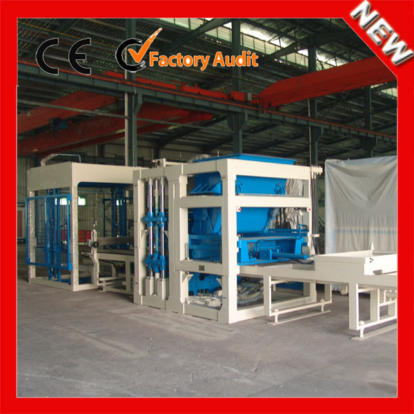 Low cost of used QT6-15 fully automatic hydraulic clay brick making machine for sale