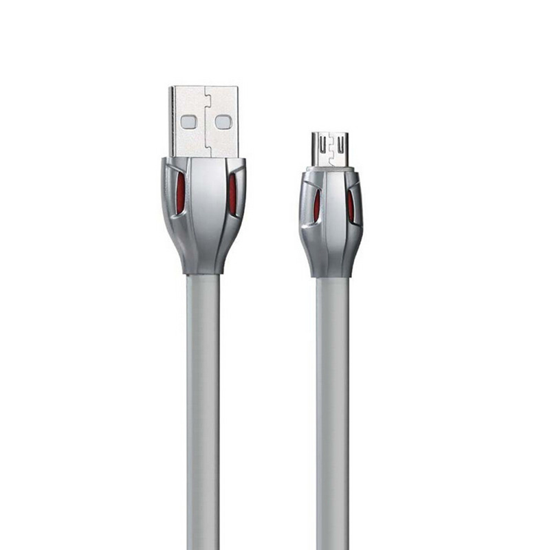 Premium LED Glow High Speed USB 2.0 A Male to Micro USB B Cables Charge & Sync Cords for Android with Snakelike Connector