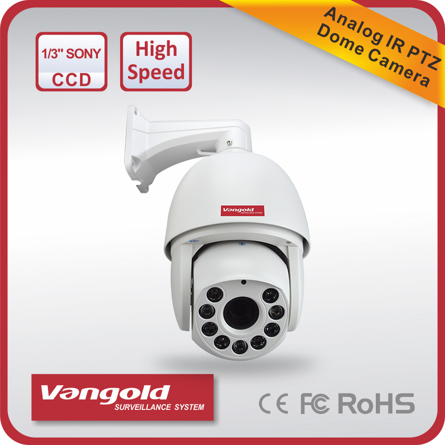 outdoor weatherproof 700TVL 30x Auto tracking ptz high speed dome camer for CCTV security system