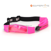 smart Waist Pack With LED Safety Lights-Waist Pouch & Funny Pack for Running