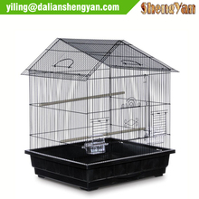Artificial house shape aviary bird cage