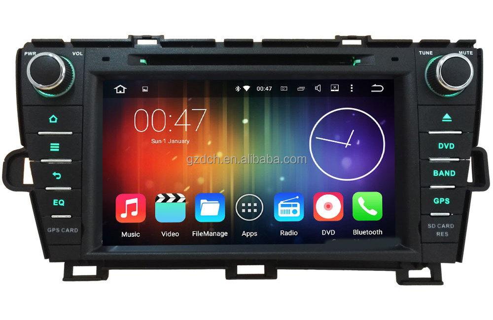 8 inch.4G Octa Core 64-BIT 2GB RAM Android 6.0 Car DVD Radio <strong>Player</strong> For Toyota Prius 2009 2010 2011 2012 2013 WS-9192