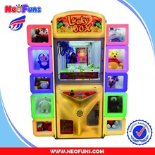 Selling Doll Claw Machine Lucky Box With Game Box Arcade Crane Machine Games Toy Machine For Game Center Equipment