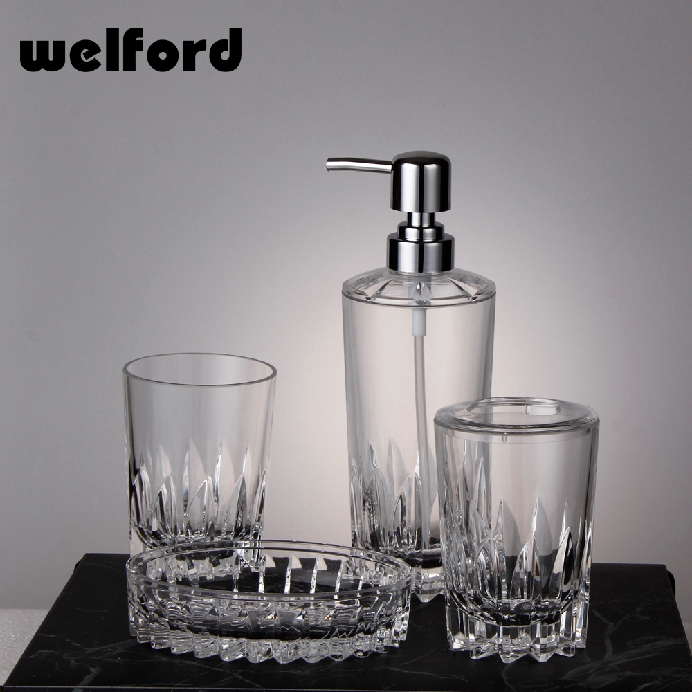 outstanding clear acrylic bathroom accessories gallery - best idea