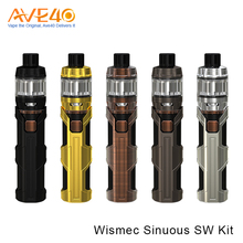 2017 Popular Items E Cigarette Kit Express Five Optional Colors WISMEC SINUOUS SW With Elabo SW Starter Kit