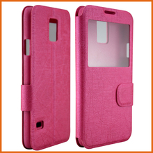 Factory PU leather flip mobile phone cover for blackberry z30