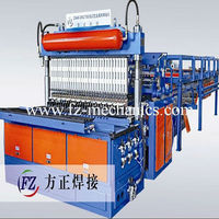 Professional Metal animal cages wire mesh welding machine
