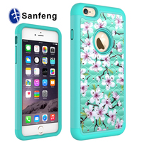 Factory in china mobile phone accessories for iphone 6 plus accessories diamond cellphone case with color painting