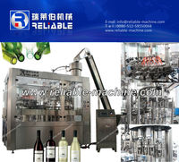 Automatic 3 In 1 Unit Alcohol Drink Filling Machine/Bottling Equipment