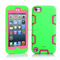 For iPod Touch 5 5th Gen Hard Soft Impact Hybrid Rubber Matte Case Cover