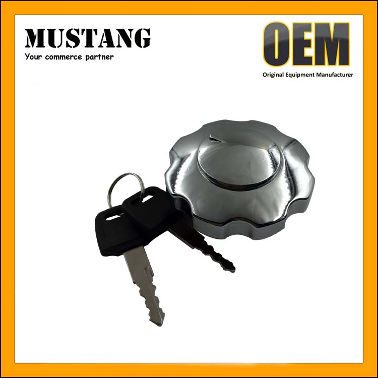 Gasoline Engine Stainless Steel Universal Fuel Tank Lock Cap