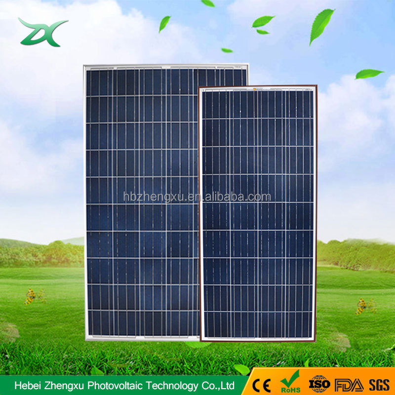 250w roof solar panel manufacture in china