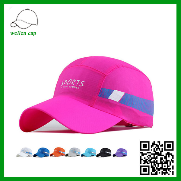 new products for 2016 summer quick-dry sport cap multi color softtextile baseball caps for sale wholesale