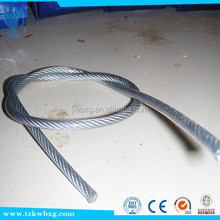 Heat radiation 316L stainless steel wire rope for cable connection
