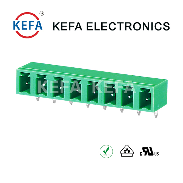 KF2EDG15R-5.08mm pitch pluggable terminal block 300V/10A with KEFA