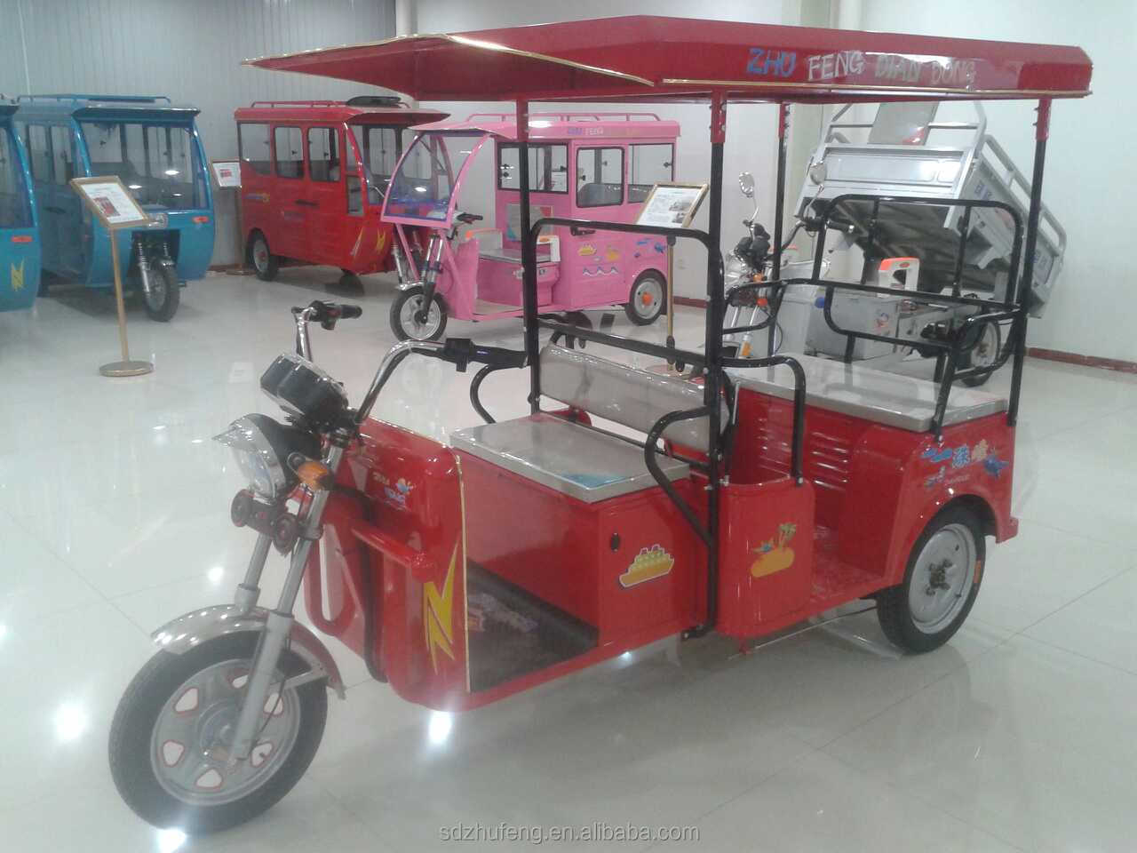 New brand CKD/SKD tricycle with electric power price