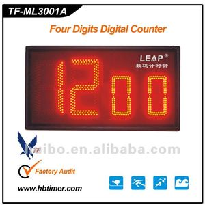 outdoor led sport countdown clock/timer