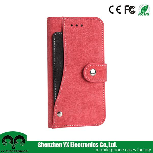 multifunctional card holder flip mobile phone cover for iphone 6 case leather wallet
