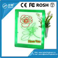 Best-selling kids magnetic writing board, christmas gift 2015, children dry eraser writing board