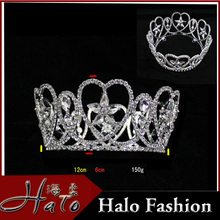 2016 Hot Selling Hair Decoration Design Rhinestone Beauty Bride <strong>Crown</strong> For Wedding
