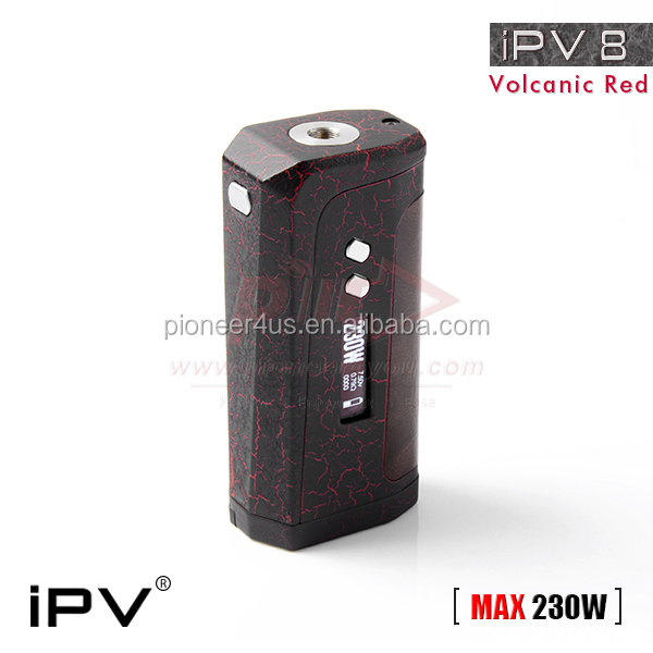 IPV 8 230WATT mod yihi sx330-f8 chip ipv8 Pioneer4you ipv vaping mod vape IPV Newest Design,YIHI Chip