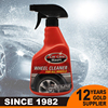 Fast shipment rust remover tire shine wheel cleaner