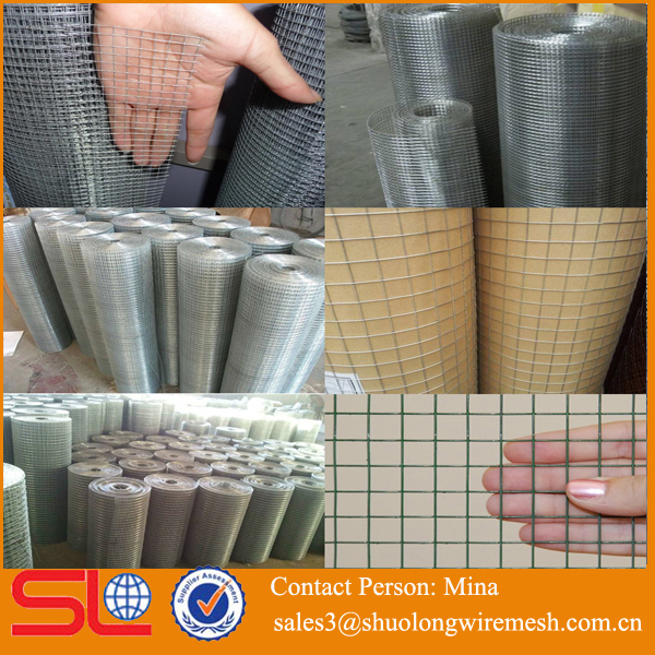 High quality 3x3 galvanized welded wire mesh fence panel