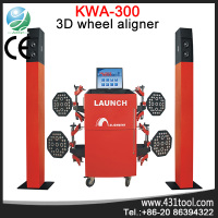 CE certificated Original LAUNCH KWA-300 3d wheel alignment and balancing machine