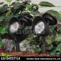 outdoor spot light plastic material, super power solar spot light, bright led light spot