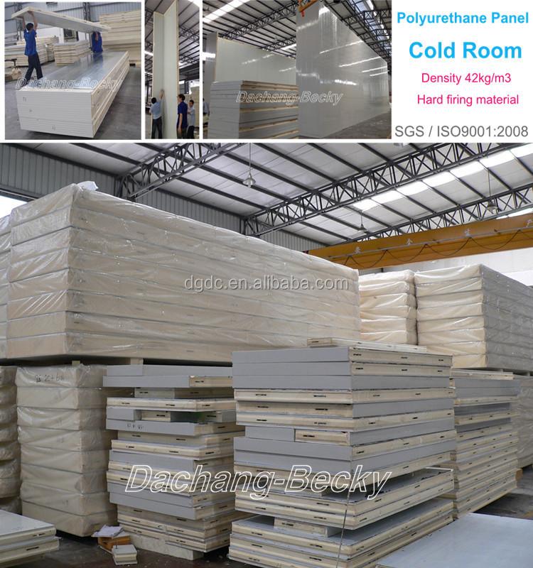 Poly Insulation Panels : Commercial cold room refrigerator freezer polyurethane