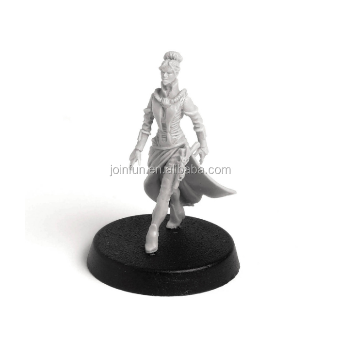 Customized plastic miniatures war games from personal designs,personalized plastic pieces miniatures game