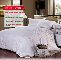 Comfortable hand made satin silk quilt/silk duvet ( Fill 2.5 kg)