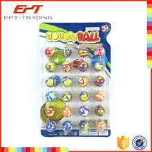 Hot selling kids small rubber bouncy balls 32mm bouncing ball for sale