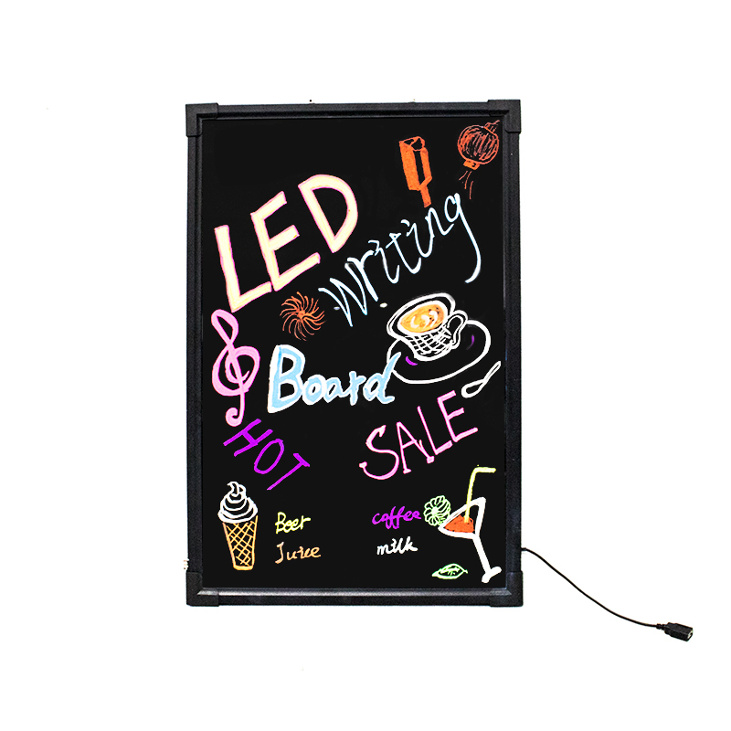 60*80cm full color led writing board/ led advertising board use indoor and outdoor