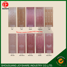 2016 Top Quality good price wood venner and melamine door skin