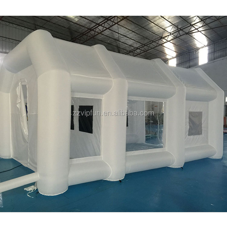 3 Years Warranty Outdoor Bubble Tent Inflatable Spray Booth Car In China