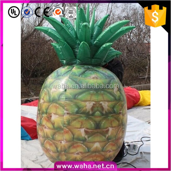Custom make hot sale giant inflatable pineapple fruit for activities