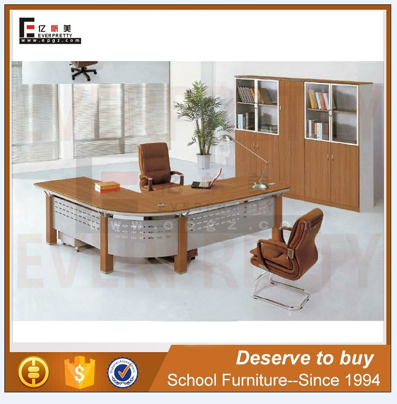Office Furniture Desk Fashion Boss Table L Semicircle Office Desk Manager Table