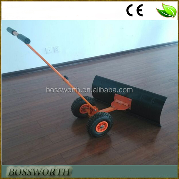 hand operated snow plow
