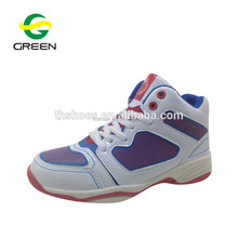 Quality china custom made fashion girls lady cheap high top basketball shoes