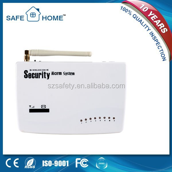 Wireless Smart Home Burglar Security GSM Alarm System,Mobile Call Alarm System