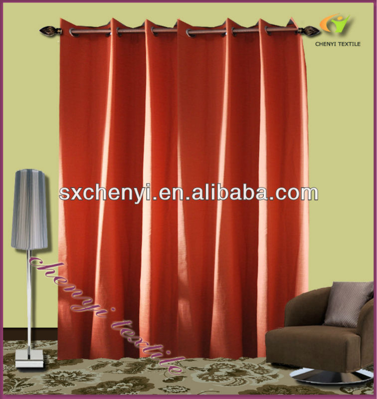 rove woven dyed fabric curtain new promoting in 2013