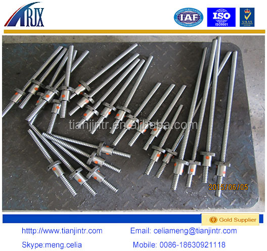 <strong>china</strong> factory for precistion C7 ,C5 and C3 rolled and ground ballscrew