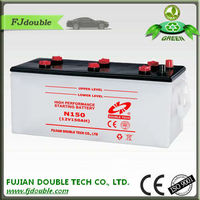 car batteries,Lead Acid Dry Charged Storage Car Battery N150 145G51 12V150AH